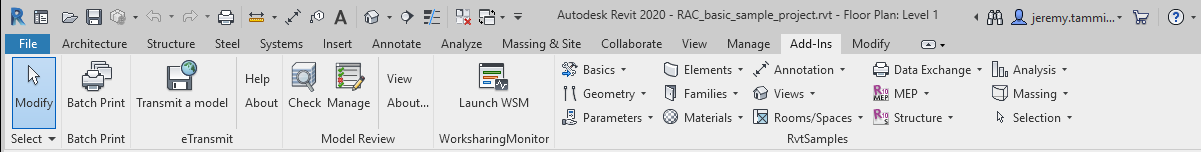 Installing Revit 2020 and the New SDK
